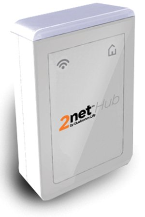 The 2net collects and transmits patient data using a secure cloud-based platform that encrypts information and makes it accessible via the Internet only to the patient and physician.