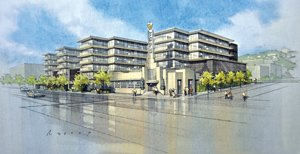 Centre City Development Corp. has approved plans for a 364-room dual hotel project planned for downtown San Diego, on the former Fat City/ China Camp site near Little Italy.