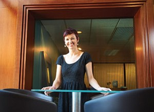 Shelly Bowen, content strategist and owner of Pybop LLC, which stands for 'Put Your Brain on Paper,' has worked with Intuit and RealAge designing online content for websites and other applications. Bowen says many web developers design the site first, then develop the content to fit, which is not the optimal way to design online content.
