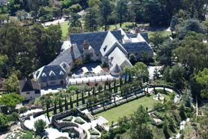 Greystone Mansion estate in Beverly Hills.