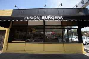 Munoz family's Fusion Burgers restaurant in Highland Park.