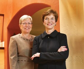 Karin Eastham, left, serves on the boards of Amylin Pharmaceuticals Inc., Illumina Inc. and Trius Therapeutics Inc., in addition to two biotechs outside of San Diego. Julia Brown, right, serves on the boards of Targacept Inc., and Biodel Inc. both based outside of San Diego. Both women agree that diversity on corporate boards leads to better decisions.