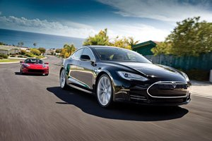 Tesla Motors says it already has 10,000 reservations for its new Model S, an electric premium sedan.