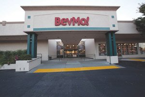 Beverages & More Inc. now operates 12 BevMo! stores in San Diego County, following its most recent opening in Santee. Shown here is a company store in Northern California.