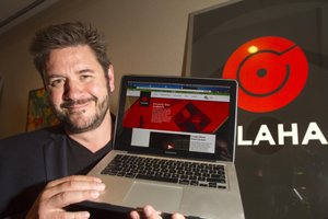 Alex LeMay, chief executive of Shadow Gang, at his L.A. office.
