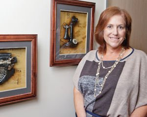 Broad Perspective: Carrie Nebens, CEO of Equis Staffing, at her Calabasas office.