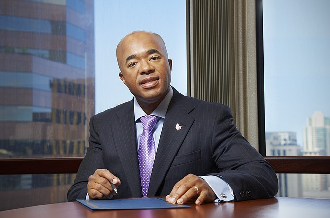 Lawrence Henry, Union Bank senior vice president and regional executive, said his bank is a 'relationship bank,' striving to maintain personalized services that set it apart from big-box banks.