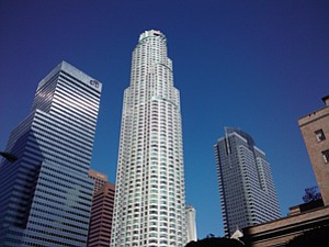 MPG's US Bank Tower in downtown Los Angeles.