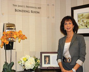 Dr. Jane L. Frederick: room for surrogate parents to bond with new babies named in her honor