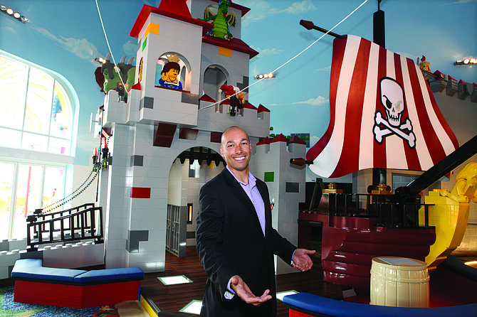 The new 250-room hotel at Legoland California Resort in Carlsbad features themed guest rooms and approximately 3,400 models created from more than 3 million Lego bricks.