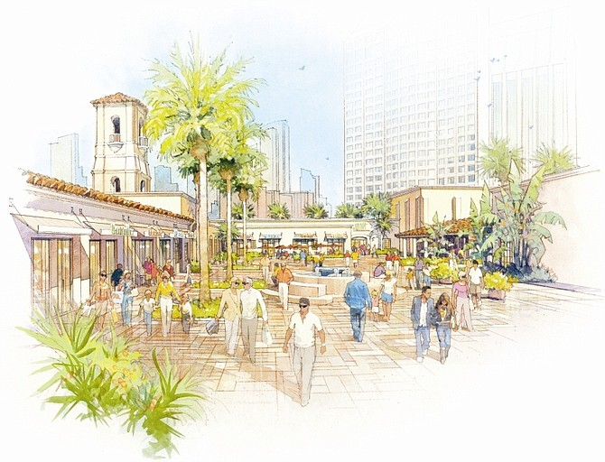 Terramar Retail Centers has lined up at least two upscale restaurants for The Headquarters, a new retail development in a former police headquarters building in downtown San Diego, set for an October opening.