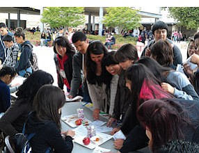Grants at Work: Arleta High School Eco-League students educate their peers.