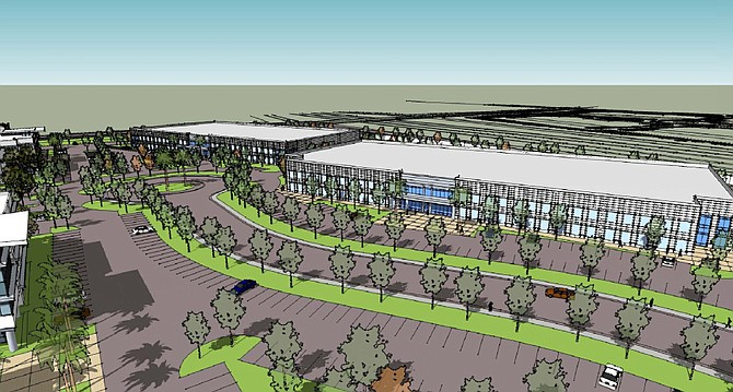 Murphy Development Co. has obtained entitlements for a $300 million, 50-acre industrial park in Otay Mesa, known as Brown Field Technology Park.