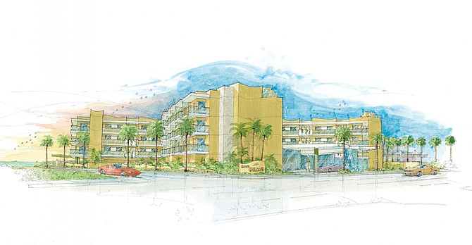Pacifica Cos. is nearing completion of a new $34 million hotel, called Pier South, on the former site of Seacoast Inn in Imperial Beach.