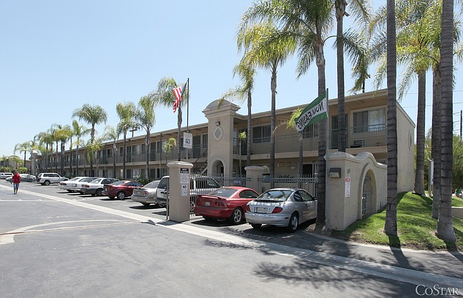 The 150-unit Bella Vista Apartments in El Cajon was recently sold for $12 million.