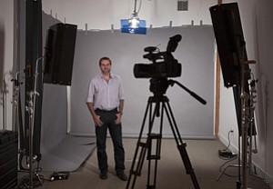 Co-founder Jason Nazar at Santa Monica's DocStoc in a 2012 photo.
