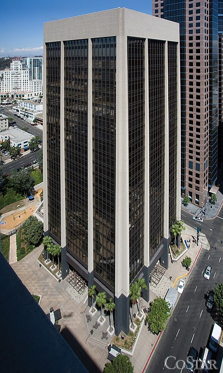 The City of San Diego has leases expiring soon at 600 B St., pictured, as well as 1200 Third Ave. and 1010 Second Ave.