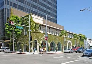 Beverly Hills storefront.