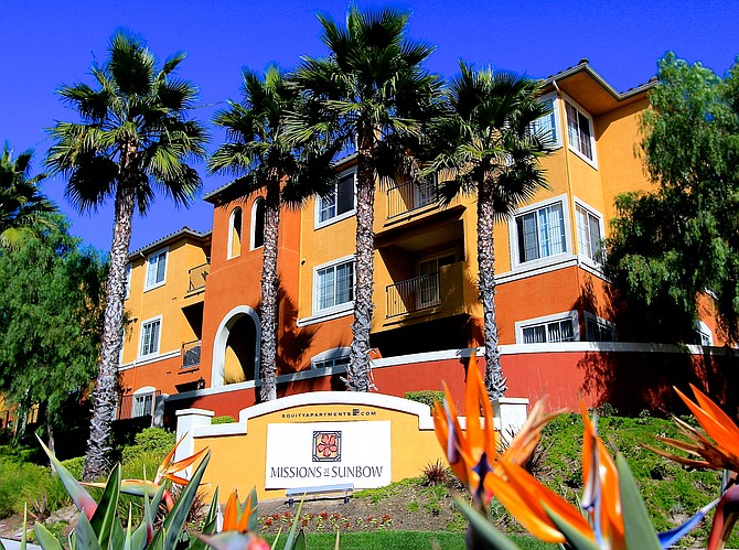Big apartment transactions of the first quarter included R&V Management Corp.'s $90 million acquisition of the 336-unit Missions at Sunbow in Chula Vista.