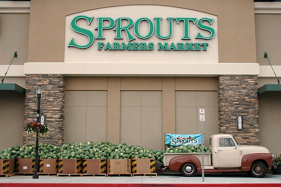 Phoenix-based Sprouts Farmers Market was founded in San Diego in 1943 and currently has 157 stores in eight states, 21 in San Diego County.