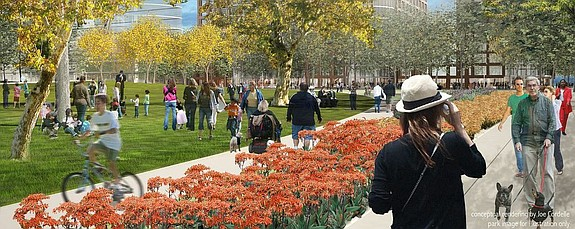 A joint development venture known as Lankford Phelps Portman (LPP) recently unveiled plans for a mixed-use project called Makers Quarter, which would span more than five city blocks in East Village.