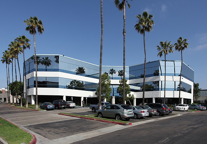 CBRE arranged $17.1 million in financing for Brookwood Financial Partners, which recently purchased and plans to renovate the Four Points Business Park in Kearny Mesa.