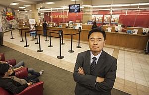 Sungsoo Han at Wells Fargo.