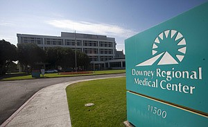 Downey Regional Medical Center, which has exited bankruptcy.