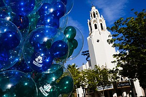 Balloons for sale at Disney California Adventure in Anaheim.