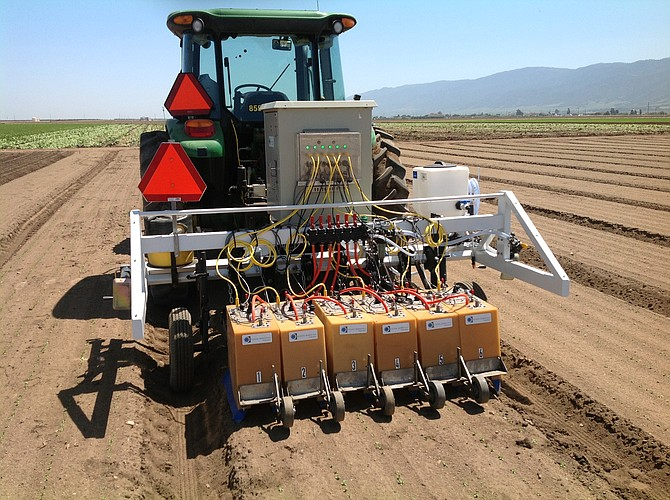 Robotics Firm Finds A Field Of Opportunity In Agriculture San