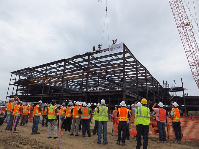Biopharmaceutical company Shire is constructing a three-story, 239,000-square-foot building. When complete in 2014, it will include manufacturing, warehouse, technical operations, amenities and administrative areas.