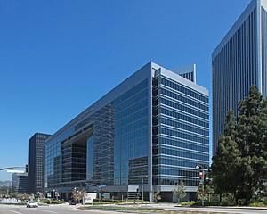 CAA building in Century City.