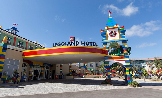 Operators of Legoland California Resort in Carlsbad said the park's new 250-room hotel was fully booked during the months of June, July and August.