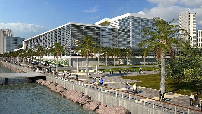 The California Coastal Commission on Oct. 10 is scheduled to review the latest plans for the proposed $520 million expansion of the San Diego Convention Center.