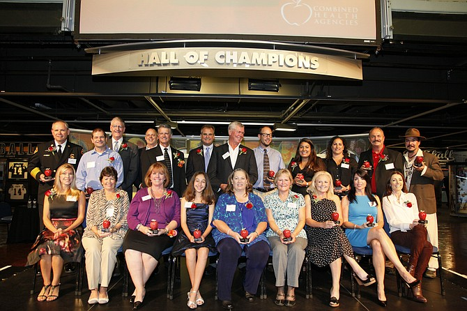 The Combined Health Agencies held its 20th annual volunteer of the year awards to recognize outstanding volunteers nominated from 23 member agencies.