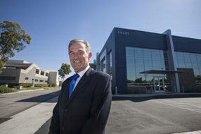 Executive Director David Meyer at the campus of the Los Angeles Biomedical Research Institute in Torrance. The institute shares a sprawling campus with Harbor-UCLA Medical Center.