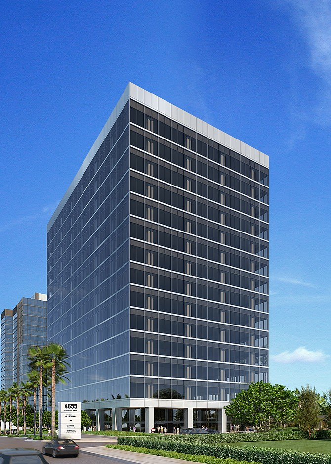 Irvine Co. has begun work on La Jolla Centre III, a $100 million, 15-story, 306,000-square-foot office building at University Towne Center.