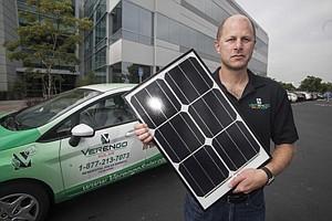 Verengo Solar's Ken Button.
