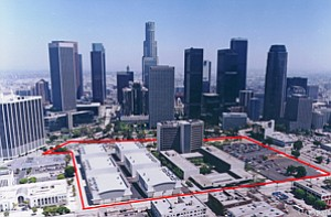 LA Center Studios' 20-acre campus near downtown Los Angeles, where software firm Daqri has leased space.