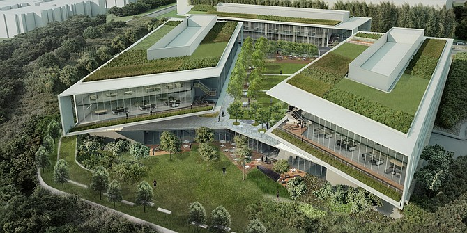 BioMed Realty Trust Inc. plans to proceed in 2014 with a three-building biotech office campus at University Towne Center to be called Center for Life Science San Diego.