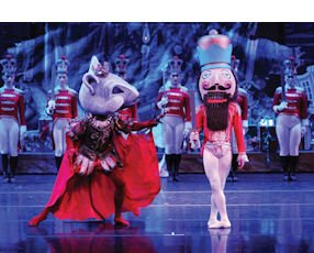The Nutcracker:  at the Irvine Barclay Theatre from Dec. 13 to 24