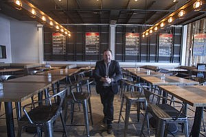 Terry Heller at his Plan Check Kitchen and Bar in Fairfax district.