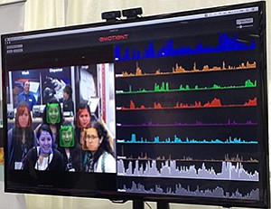 Emotient Inc.'s software Facet can detect and analyze several human emotions, including anger, sadness, joy and surprise.