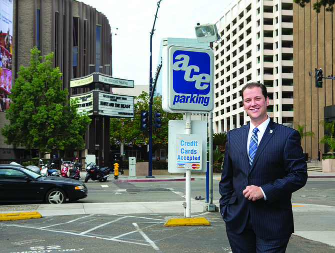 Keith Jones of Ace Parking Management Inc. says he wants the company to be the 'Neiman-Marcus of parking.' Jones is a third-generation member of San Diego's first family of parking.