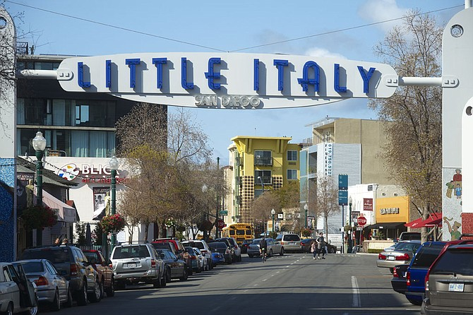 Downtown San Diego's Little Italy has been in a revival mode for about two decades.