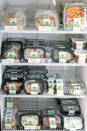 FITzee Foods, a graduate of the SDSI Springboard program, prepares ready-to-eat, organic versions of American classics, available online for delivery or in its store.