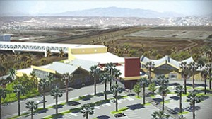 "The ""Cross Border Xpress"" — as developers are calling the pedestrian bridge being built to link Otay Mesa with Tijuana International Airport — is expected to be open in summer 2015."