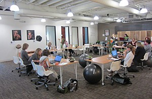 Hera Hub has three co-working spaces in San Diego County, including this one in Sorrento Mesa.