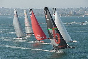 Officials seeking to host the America's Cup races say potential foreign visitors are not as familiar with San Diego as they are San Francisco or Los Angeles.