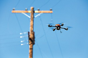 SDG&E sees many possible efficiencies in using drones to monitor operations and the state of equipment.
